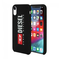 Чехол Incipio Diesel for iPhone XS Soft Touch Seasonal Logo - Black/Red/White/BlackBumper