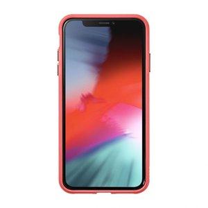 Чехол-накладка для iPhone XR - LAUT ACCENTS TEMPERED GLASS - Rose (LAUT_IP18-M_AC_P) - фото 1