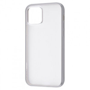 Чехол для iPhone 12 mini - TOTU Metal Effect (TPU) - Silver