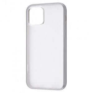 Чехол для iPhone 12 Pro Max - TOTU Metal Effect (TPU) - Silver