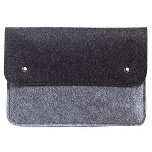 """Чехол-конверт для Macbook Air/Pro 13.3"""" черно-серый (GM05-13New)"""