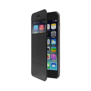 Чехол-книжка для iPhone 6 Plus - OZAKI O!coat Hel-ooo - Black (OC588BK)