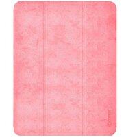 "Чехол Comma для iPad Pro 12.9"" [2020] Leather Case with Pen Holder Series (Pink)"