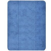 "Чехол Comma для iPad Pro 12.9"" [2020] Leather Case with Pen Holder Series (Blue)"
