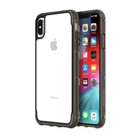 Чехол-накладка для iPhone Xs Max - Griffin Survivor Clear - Clear/Black (GIP-012-CBK)