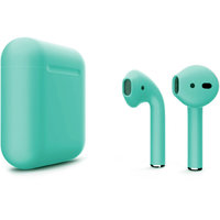 Беспроводные наушники Apple AirPods with Wireless Charging Case Color AirPods 2 (MRXJ2) - Mate Tiffany