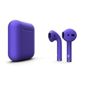 Беспроводные наушники Apple AirPods with Wireless Charging Case Color AirPods 2 (MRXJ2) - Mate Ultra Violet