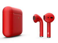 Беспроводные наушники Apple AirPods with Wireless Charging Case Color AirPods 2 (MRXJ2) - Red Mate