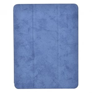 "Чехол-накладка Comma для iPad 9.7"" [2017-2018] Leather Case with Pen Holder Series (Blue)"