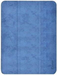 "Чехол Comma для iPad Air 4 10.9"" Leather Case with Pen Holder Series Blue"