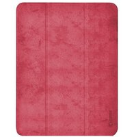 "Чехол Comma для iPad Pro 12.9"" [2020] Leather Case with Pen Holder Series (Red)"