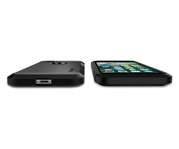 Чехол-накладка для  iPhone 7/8 - Spigen Tough Armor - Black (SGP-042CS20491)