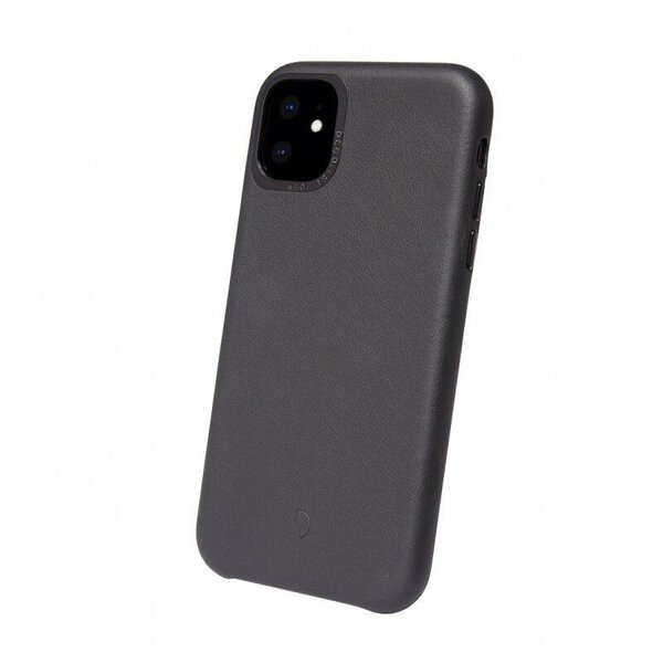 Чехол-накладка для iPhone 11 - Decoded Back Cover - Black (D9IPOXIBC2BK)