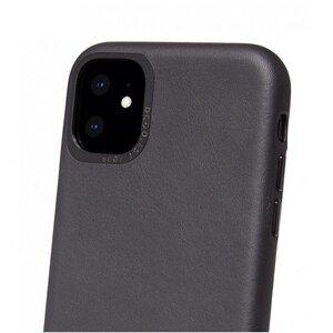 Чехол-накладка для iPhone 11 - Decoded Back Cover - Black (D9IPOXIBC2BK) - фото 5