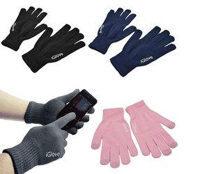 Перчатки для сенсорных экранов Touch iGlove - Black - фото 4