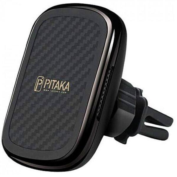 Держатель Pitaka MagEZ Mount Qi Car Vent Black/Gun Metal (CM3001QBGM)