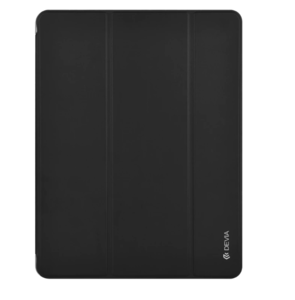"Чехол-накладка для iPad 9.7"" [2017-2018] - Devia Easy Case with Pen Holder Series (Black)"