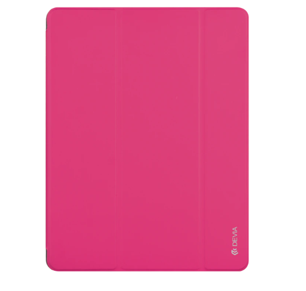 "Чехол-накладка для iPad 9.7"" [2017-2018] - Devia Easy Case with Pen Holder Series (Pink)"