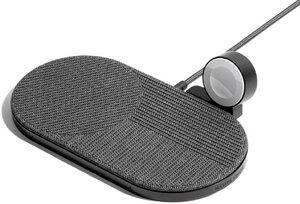 Беспроводная зарядка Native Union Drop XL Watch Wireless Charger Fabric Slate (DROP-XL-GRY-AW-UEU) - фото 3