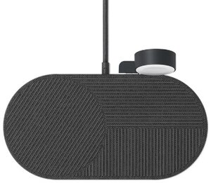 Беспроводная зарядка Native Union Drop XL Watch Wireless Charger Fabric Slate (DROP-XL-GRY-AW-UEU) - фото 2