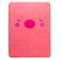 "Чехол для iPad 9.7"" [2017-2018] - Devia Kowa Case with Pen Holder Series - Pink"