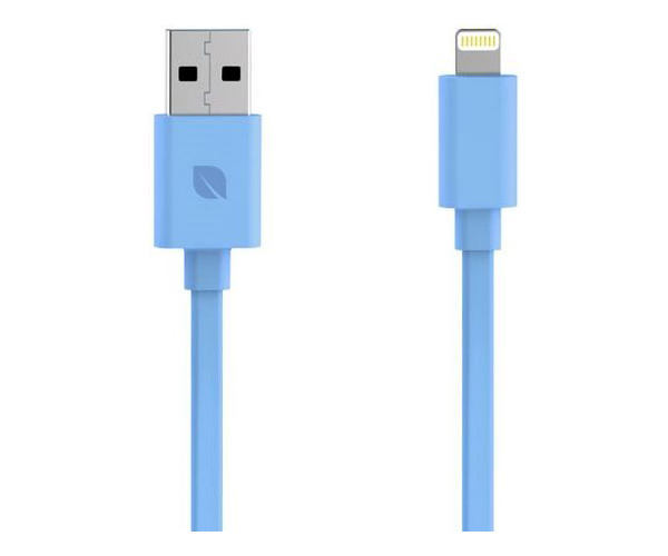 Кабель Incase Sync and Charge Flat - Apple Lightning 1 м - Blue (EC20122)