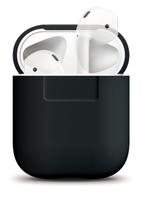 Чехол Elago Silicone Case Black for Airpods (EAPSC-BK)
