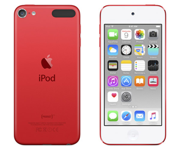 apple ipod touch 6gen 16gb red mkh82ll. Black Bedroom Furniture Sets. Home Design Ideas