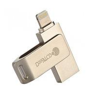 Флеш накопитель Coteetci iUSB V2 32GB Gold (CS5123-32G)