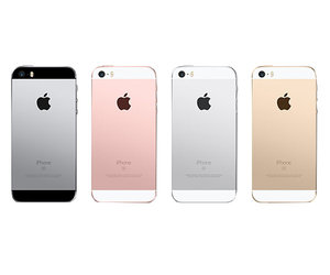 iPhone SE 32Gb (Gold) (MP842) - фото 1