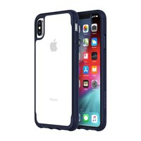 Чехол-накладка для iPhone Xs Max - Griffin Survivor Clear - Clear/Iris (GIP-012-CIR)