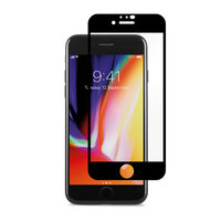 Защитное стекло для iPhone SE 2 Soneex 2.5D Full Slik Screen 0.26mm (Black)