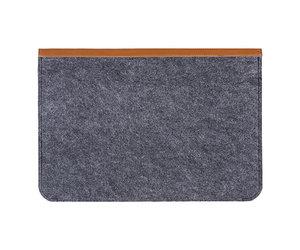 "Чехол-конверт на кнопках Gmakin для MacBook Air 13"" и Pro 13"" Brown (GM03) - фото 2"