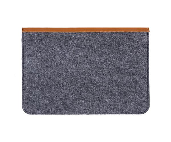 "Чехол-конверт на кнопках Gmakin для MacBook Air 13"" и Pro 13"" Brown (GM03)"