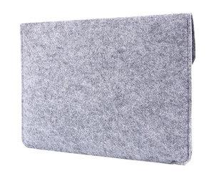 """Чехол-конверт на кнопке Gmakin для MacBook Air 13"""" и Pro 13"""" Gray (GM07) - фото 6"""