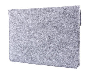 "Чехол-конверт на кнопке Gmakin для MacBook Air 13"" и Pro 13"" Gray (GM07) - фото 6"