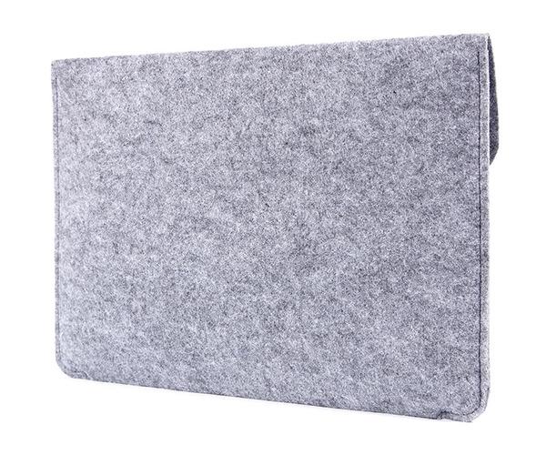 "Чехол-конверт на кнопке Gmakin дляMacBook Air 13"" и Pro 13"" серый (GM07)"