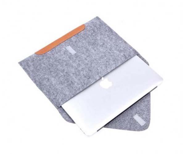 "Чехол-конверт Gmakin для MacBook Air 13"" и Pro 13"" Gray (GM10)"