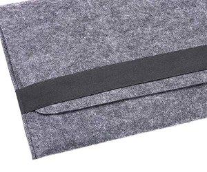 "Чехол-конверт Gmakin для MacBook Air 13"" и Pro 13"" Gray (GM14) - фото 2"