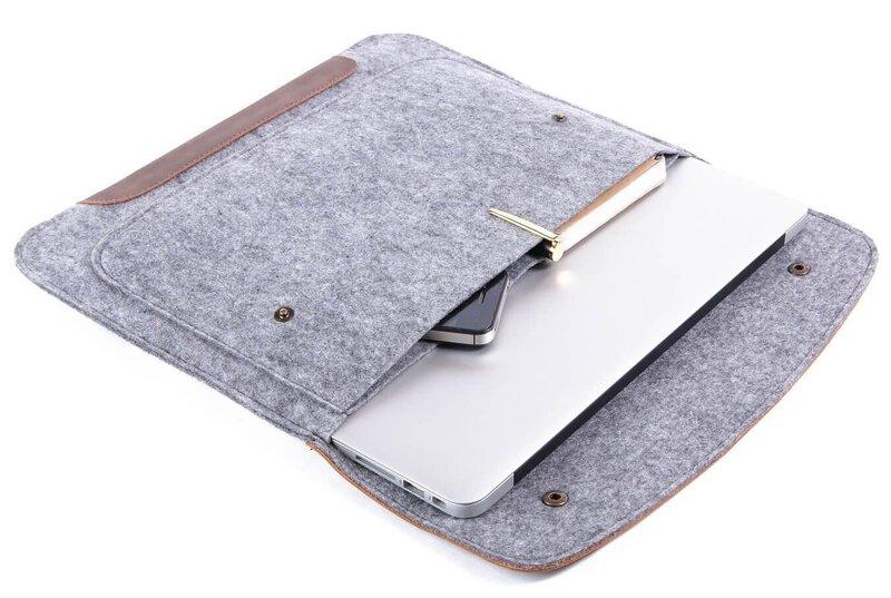 Чехол-конверт Gmakin для Macbook 13 New (GM45-13New)