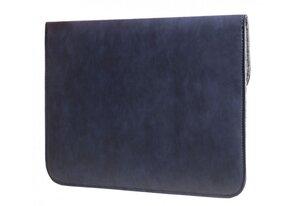 Синий винтажный чехол-конверт Gmakin для Macbook Pro 13 New - Blue (GM51-13New) - фото 2