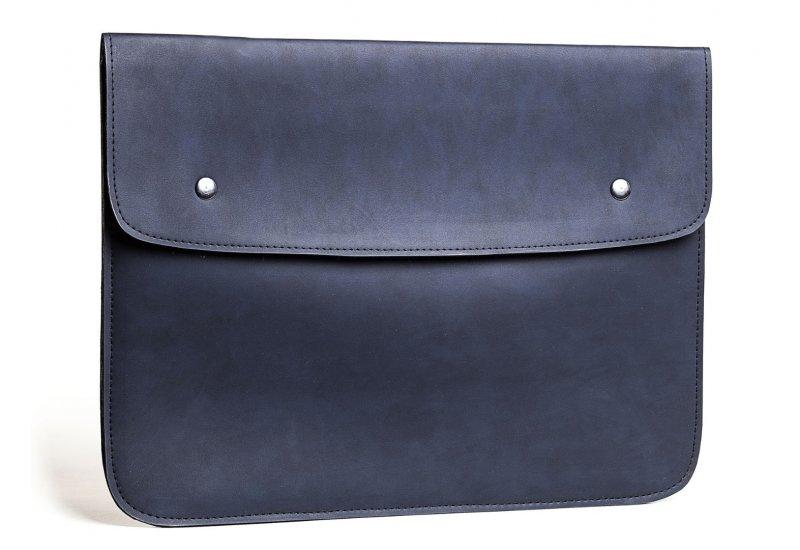 Синий винтажный чехол-конверт Gmakin для Macbook Pro 13 New - Blue (GM51-13New)