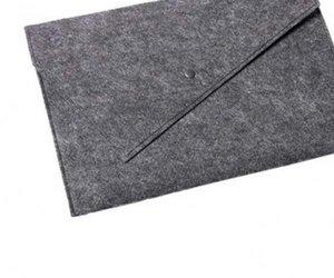 "Чехол-конверт Gmakin для MacBook Air 13"" и Pro 13"" Gray (GM06) - фото 3"