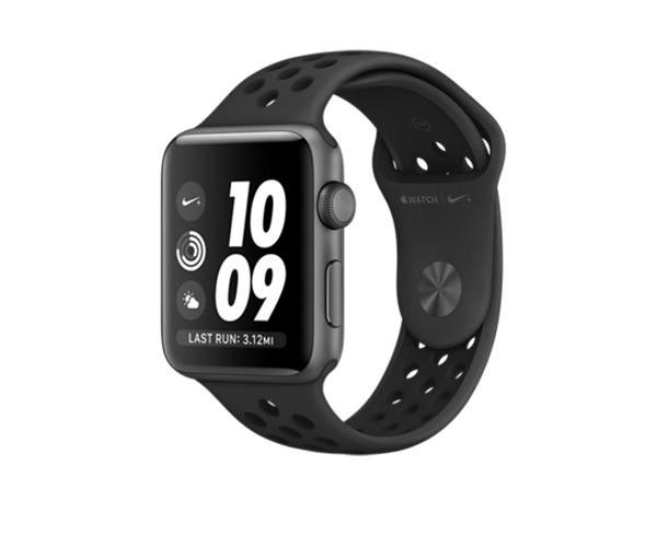 Apple Watch Series 3 Nike+ (GPS) 42mm Space Gray Aluminum w. Anthracite/Black Nike Sport B.(MTF42)