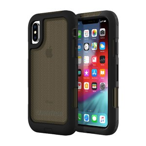 Чехол-накладка для iPhone Xs Max - Griffin Survivor Extreme - Black/Smoke (GIP-014-BLK)
