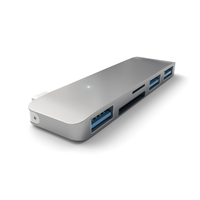 Хаб Satechi Type-C USB 3.0 3-in-1 Combo Hub Space Gray (ST-TCUHM)