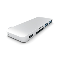 Хаб Satechi Type-C USB 3.0 Passthrough Hub Silver (ST-TCUPS)