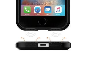Чехол-накладка для  iPhone 7/8 - Spigen Tough Armor - Gun Metal (SGP-042CS20489) - фото 6