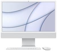 "iMac 24"" Retina 4.5K 256GB 7GPU (Silver) (MGTF3) 2021"