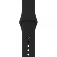 Ремешок Apple Watch 42/44mm Sport Band (S/M & M/L) Black OEM